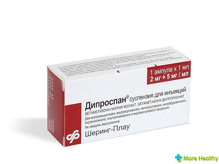 Особенности применения Дипроспана при псориазе
