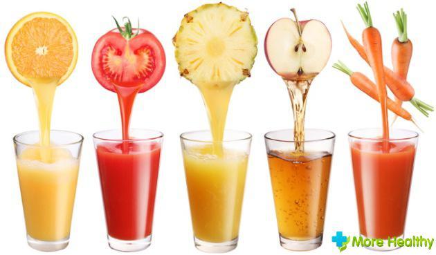 Какие соки можно пить при гастрите