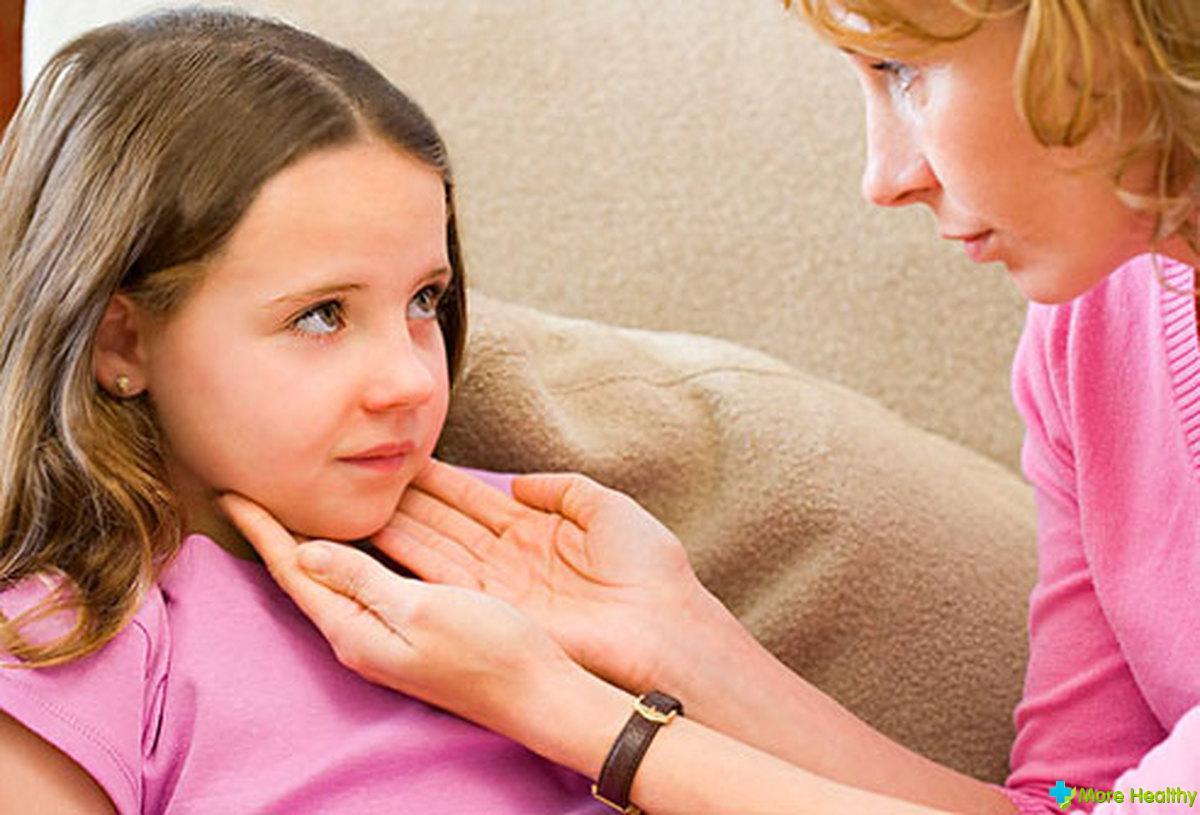 Вылечить горло быстро ребенку