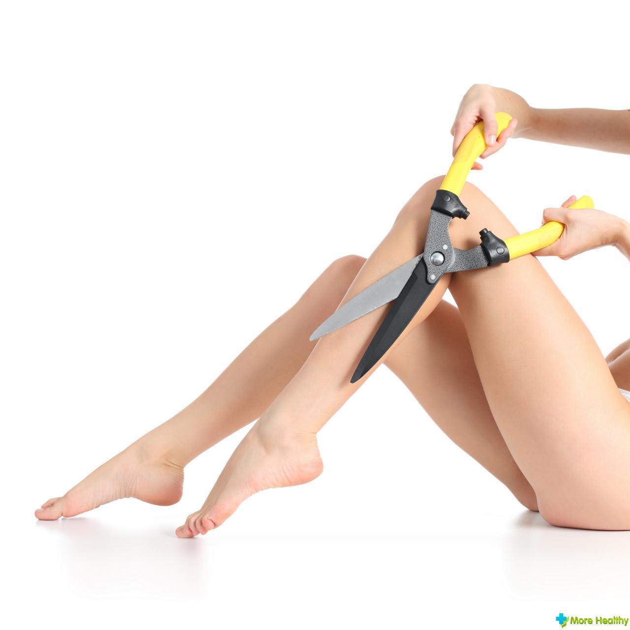 удаление волос интимной зоны видео