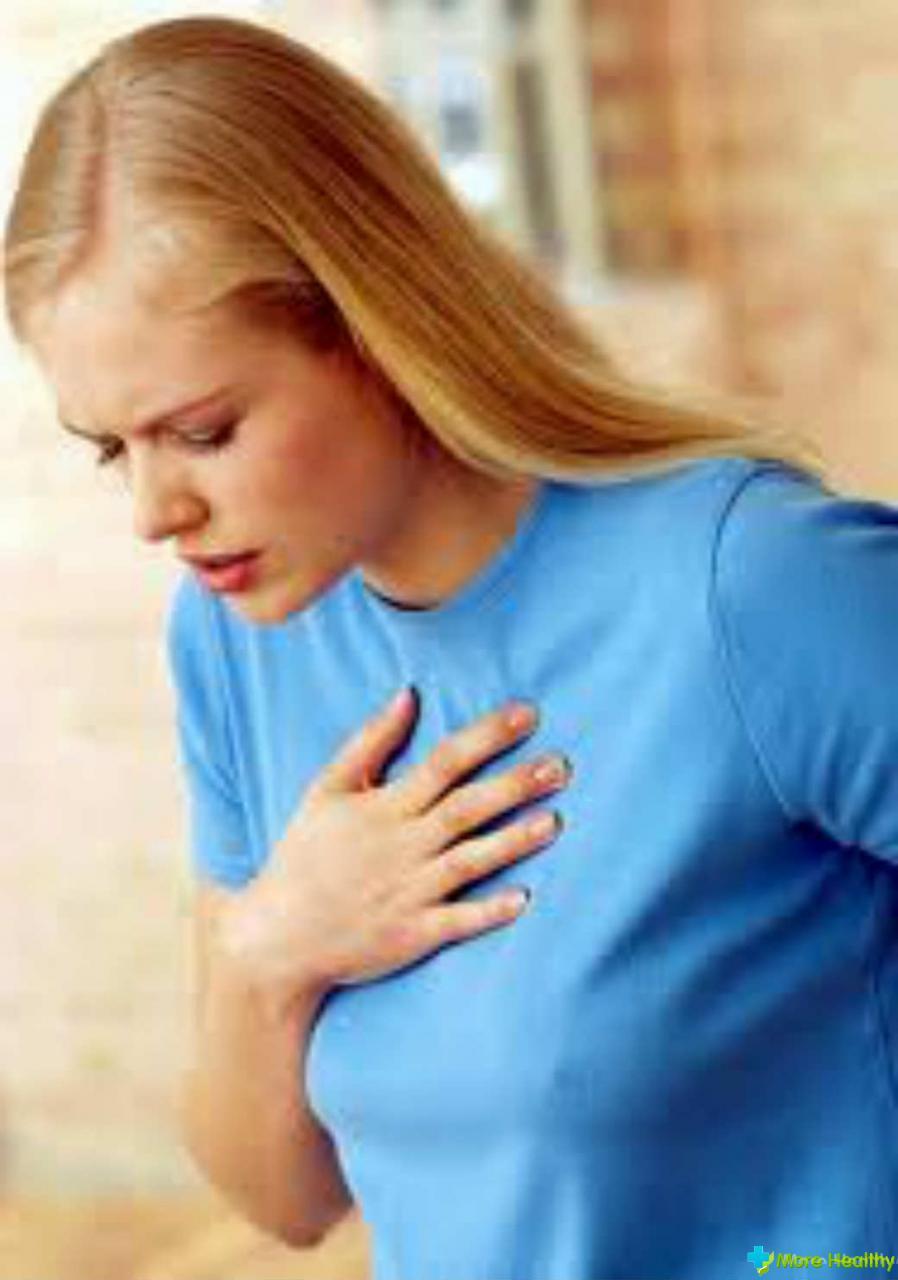 Легкая боль в груди 5 фотография