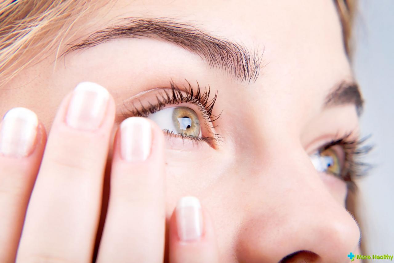 Гель от травмы глаза