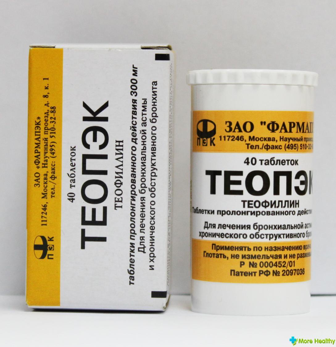 таблетки от астмы теопэк