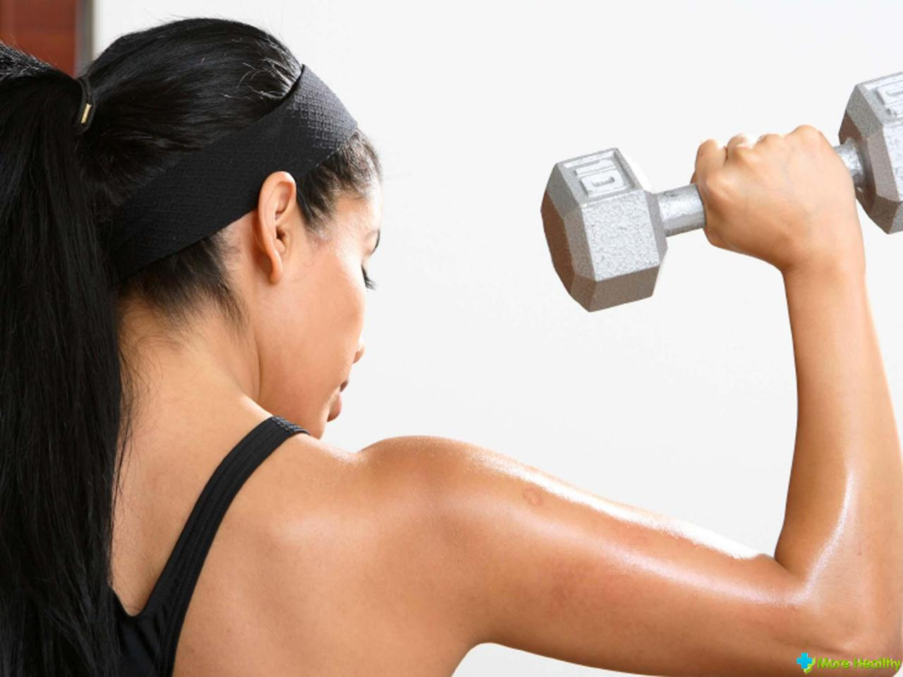 Как похудеть в руках у женщин