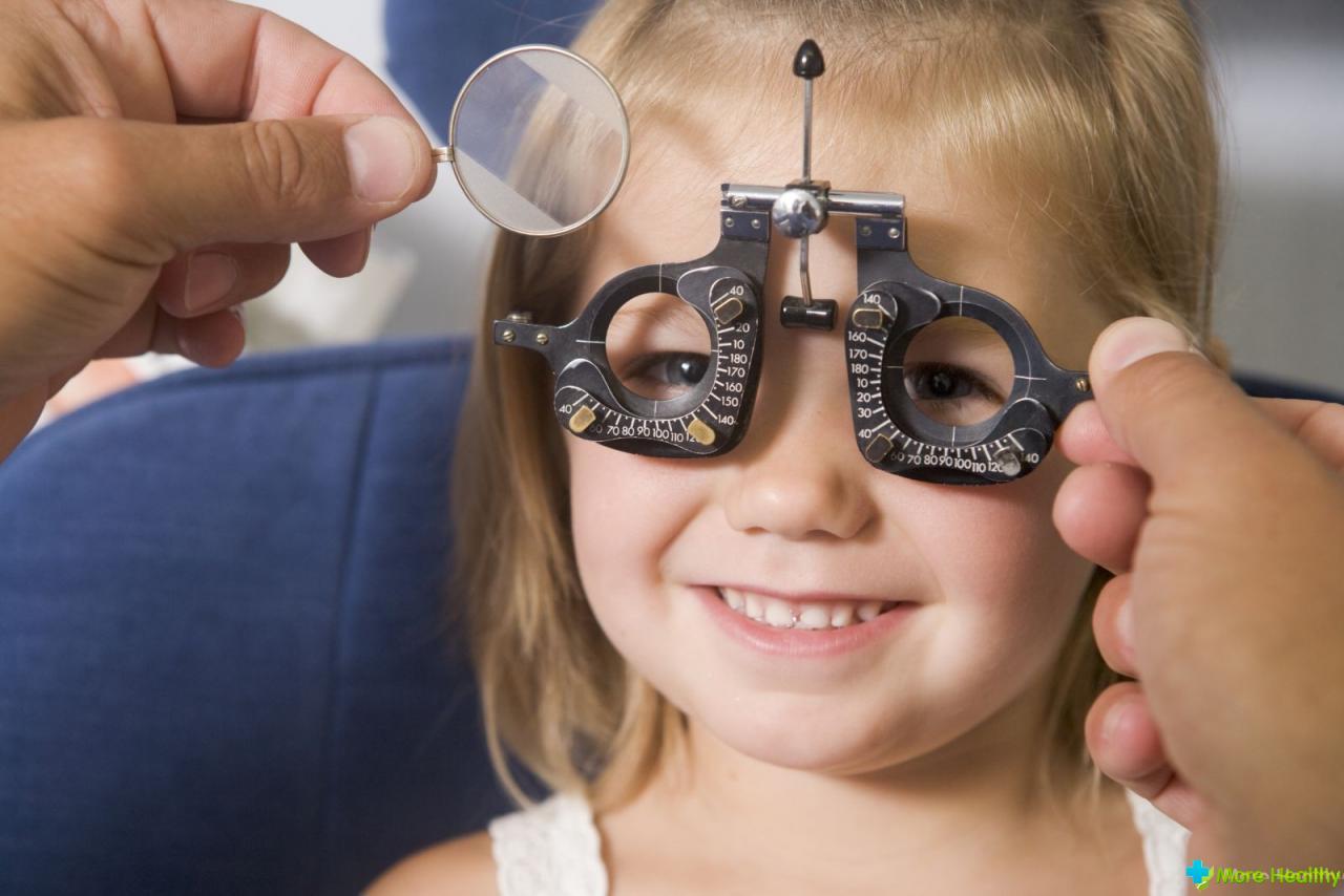 Астигматизм у ребенка в 4 года лечение
