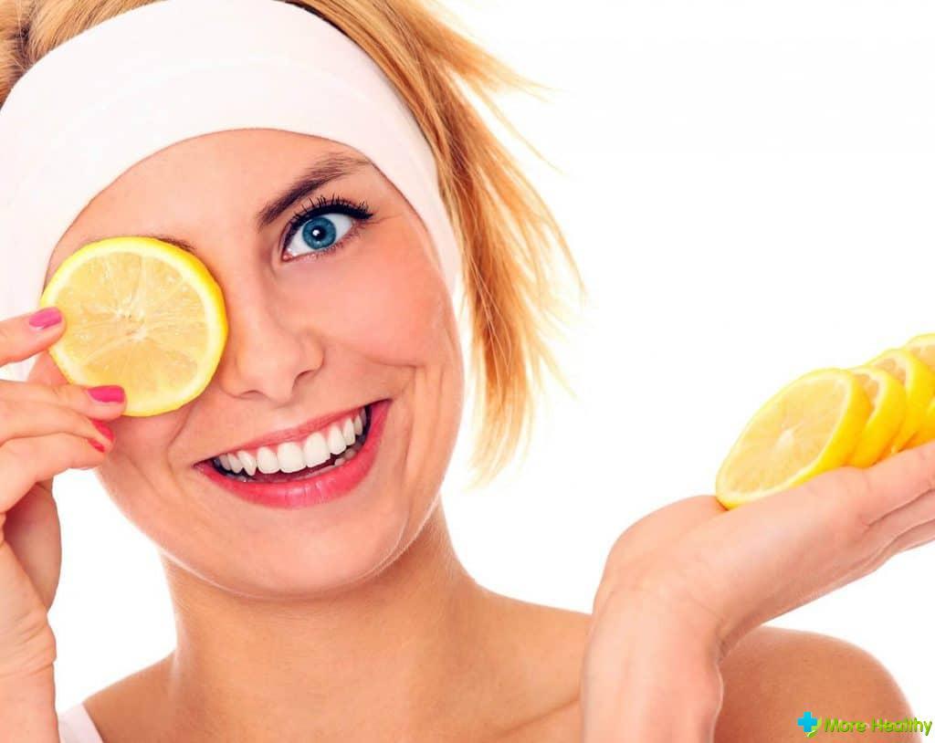 Рецепт от прыщей с белком и лимоном