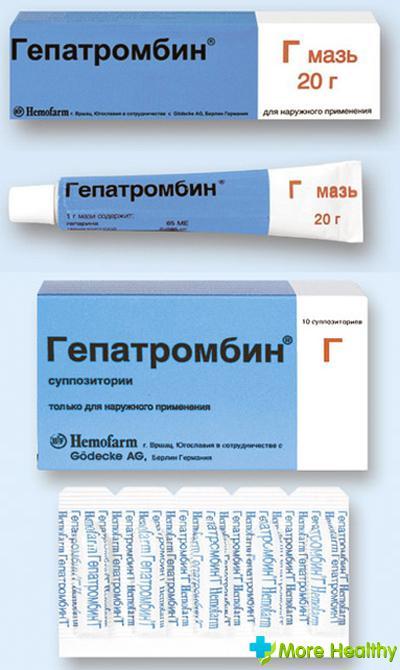 Гепатромбин г мазь отзывы беременных 9