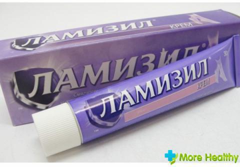Ламизил при грибке