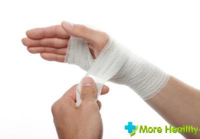 лечение ушиба руки