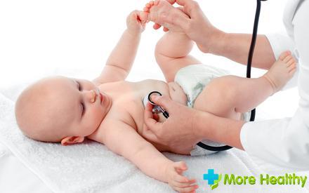 простуда у грудного ребенка