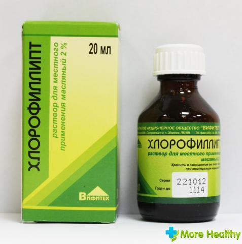Лечение хлорофиллиптом