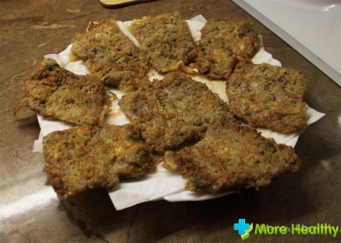 Говяжья печень, приготовленная по рецепту