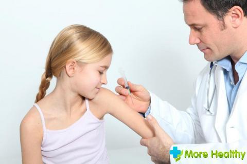Прививка от столбняка детям