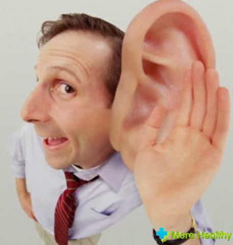 Пониженный слух