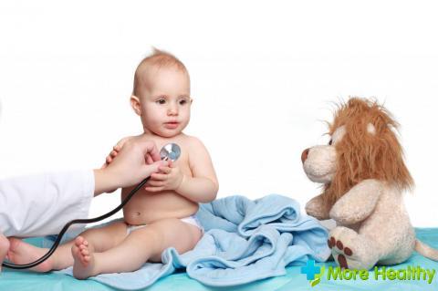 Резкое повышение температуры у ребенка