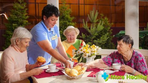 Рациональное питание для людей в возрасте