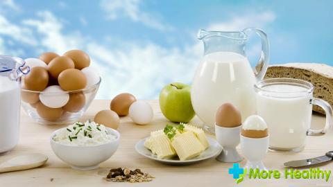продукты с белком
