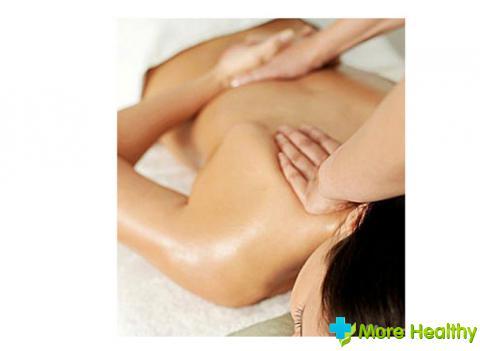 массаж грудного отдела позвоночника