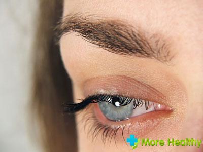 рана глаза