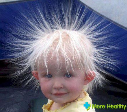 волосы на теле у ребенка