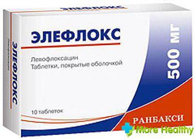 элефлокс - противомикробный препарат