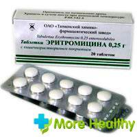 эритромицин детям