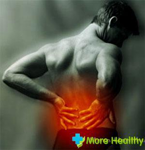 Боль в животе отдающая в спину