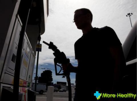 Отравление парами бензина